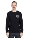Deus - Venice Address Long Sleeve Tee - Black