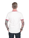 Deus x Land - Rubber Wings Tee - Blanc/Red