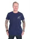 Deus x Land - Stallion Tee - Navy