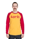 Deus - Super OK Raglan - Yellow / Red