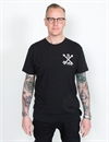 Deus - Thru The Heart Tee - Black