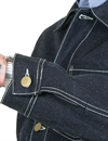 Eat Dust - Fit 673 Painter Denim Jacket - Indigo Blue