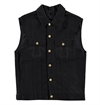 Eat Dust - Fit 736BL Bloodline Selvage Jeans Vest - Black 14oz