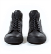 Eat Dust - Bloodline Hi Leather Sneaker - Black