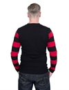 Eat Dust - Club Jersey Striped - Black/Red