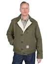 Eat Dust - Fit Aviator Jacket HTB Twill - Khaki