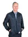 Eat Dust - Frostbite Quilted Nylon Jacket - Navy