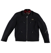 Eat Dust X Lewis Leathers - Racing Phantom Motorcycle Jacket - Navy Wool