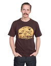 Eat Dust - Open Road Heavy Tee - Brown