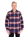 Eat Dust - Rider Flannel Shirt - Black Bear Checked