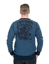 Eat Dust - Heavy Skull Sweater - Navy