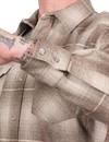 Pendleton - Western Wool Fitted Canyon Shirt - Santa Clara/Tan Ombre