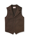 Filson - Western Wool Vest - Brown