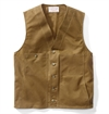 Filson - Oil Tin Cloth Vest - Brown