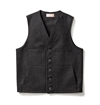 Filson - Mackinaw Wool Vest - Charcoal