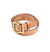Flying Zacchinis - Hammertime Leather Belt - Natural