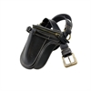 Flying Zacchinis - High Noon Shoulder/Waist Bag - Black
