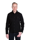 Indigofera - Dollard Canvas Shirt 8oz- Black