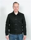 Indigofera - Grant Black Selvage Denim Jacket Gunpowder 14oz