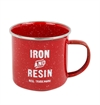 Iron & Resin - Camp Mug - Red