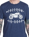 Iron & Resin - Freedom To Roam T-shirt - Midnight Blue