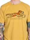 Iron & Resin - Tiger Stripes T-shirt - Gold