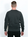 Ldc - Solid Lies Crew Neck - Antracite Grey