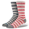 Stance X Eat Dust Collection - ED Red Stripe Socks