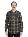 Pendleton - Western Wool Canyon Shirt - Olive/Blue Ombre