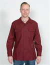 PENDLETON - BOARD SHIRT - BURGUNDY MIX