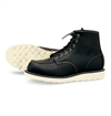 Red Wing Shoes - Style No. 8130 6'' Classic Moc Toe - Svart