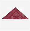 Zace USA - Bandana Print Button Bandana - Red