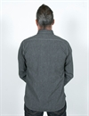 Rising Sun & Co. - Messenger Ls - Shirt - Salt & Pepper