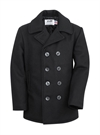 Schott NYC - Classic 32 Oz. Melton Wool Navy Pea Coat