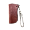 Flying Zacchinis - Sly Stone Rectangular Wallet - Brown