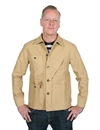 Tellason - Coverall Jacket - Tan - 12oz